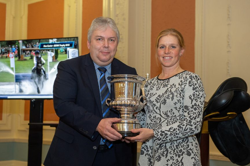 Winner of the BEWA Trophy, Rosalind Canter, © Jon Stroud Media