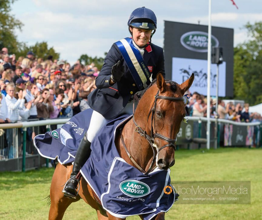 Pippa Funnell and MGH Grafton Street win Burghley 2019
